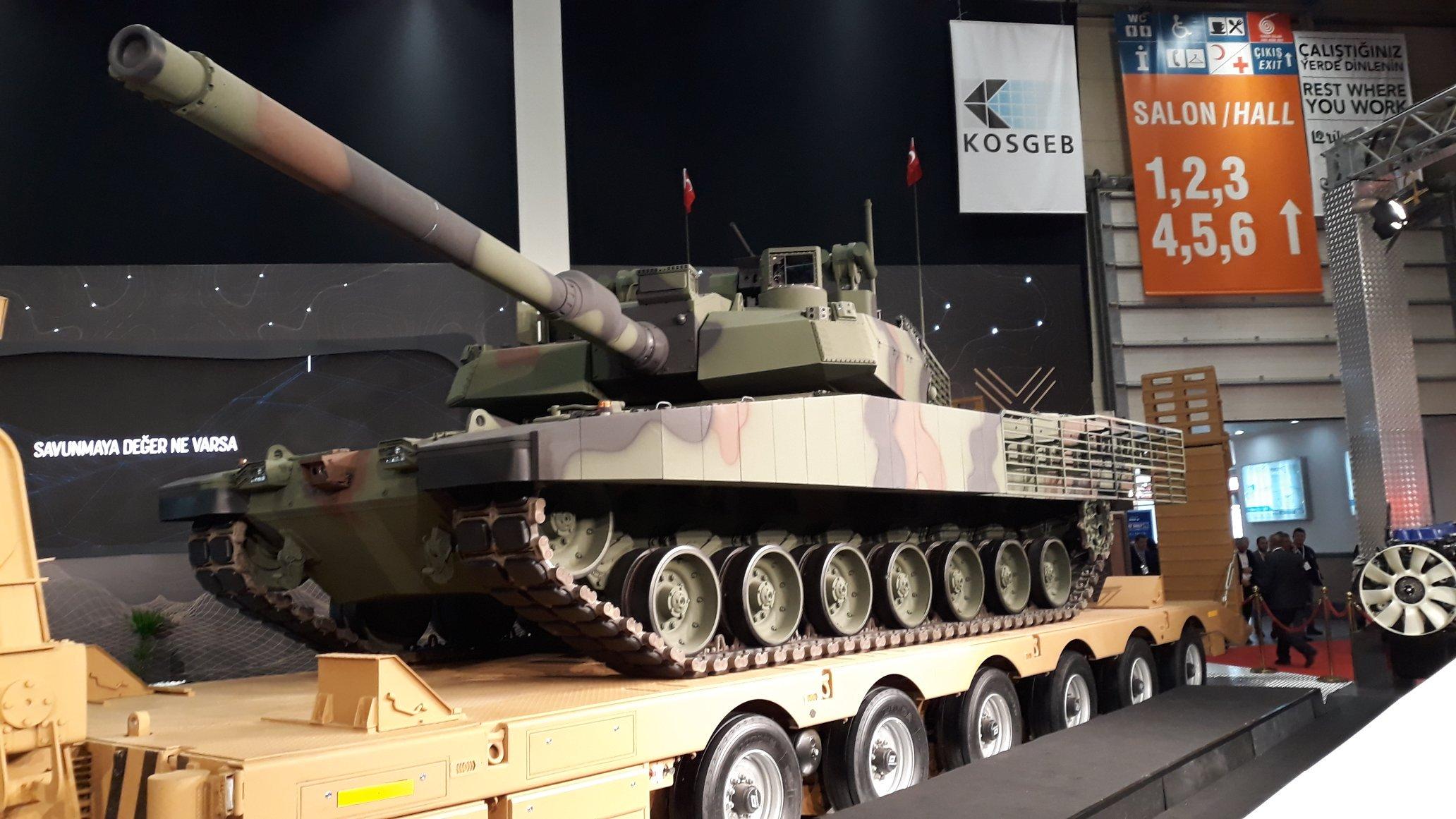 Altay Tankinin Uretiminde Gecikme Yasanabilir C Savunma